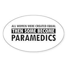 Paramedic design Decal