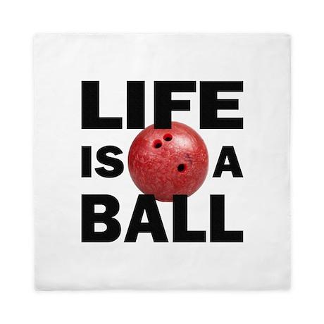 Bowling Life Queen Duvet