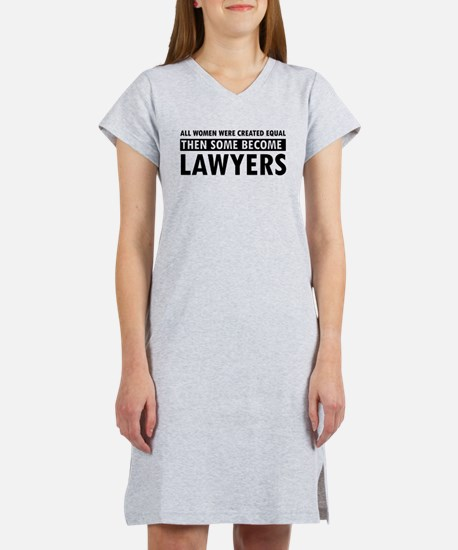 Lawyer design Women's Nightshirt