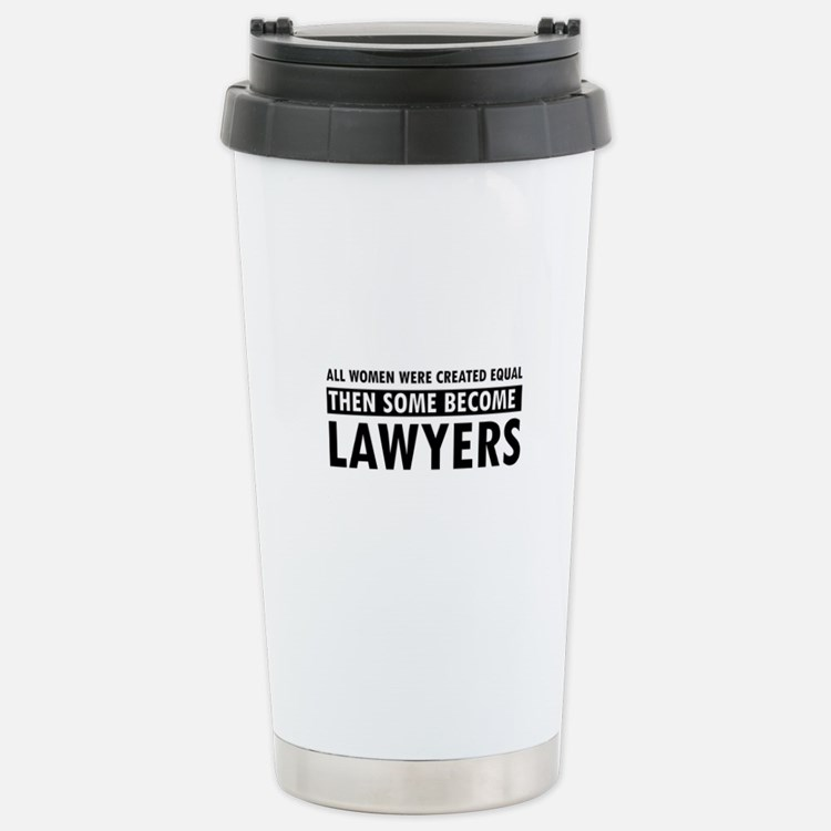Lawyer design Stainless Steel Travel Mug
