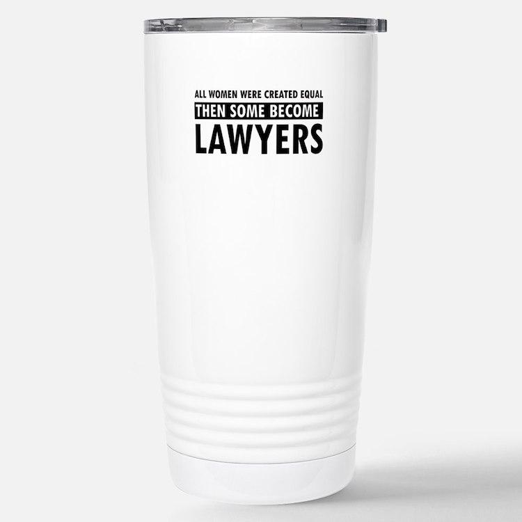 Lawyer design Thermos Mug