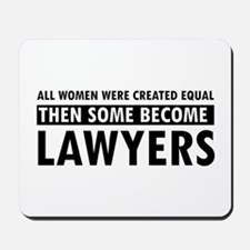 Lawyer design Mousepad