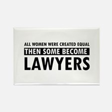 Lawyer design Rectangle Magnet