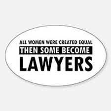 Lawyer design Decal