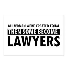 Lawyer design Postcards (Package of 8)