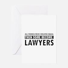 Lawyer design Greeting Card