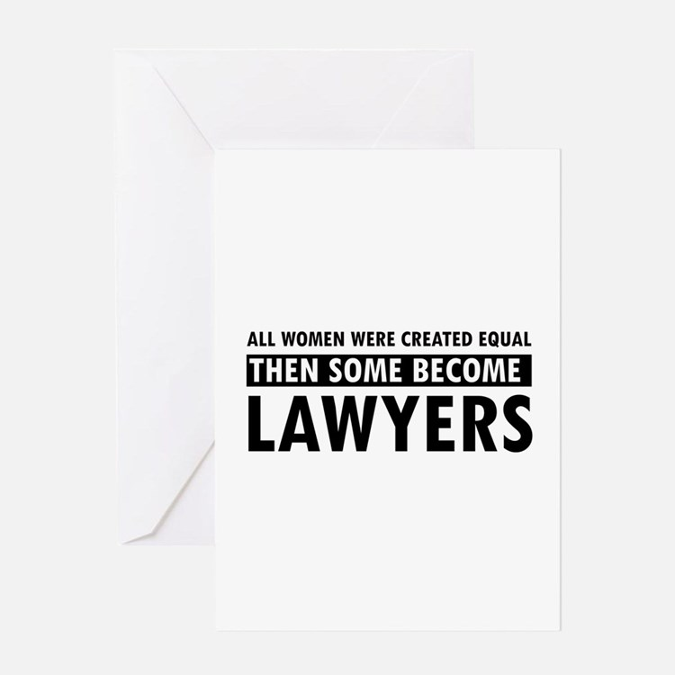 Lawyer design Greeting Card