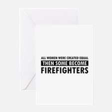 Firefighter design Greeting Card