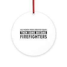 Firefighter design Ornament (Round)