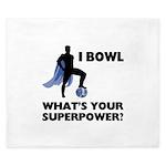 Bowling Superhero King Duvet