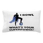 Bowling Superhero Pillow Case