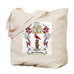 Van Rossum Coat of Arms Tote Bag