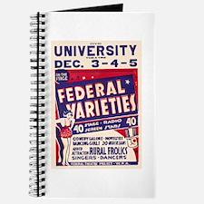 Federal Varieties WPA Poster Journal