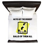Biggest Balls Bowling King Duvet