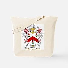 de Roo Coat of Arms Tote Bag