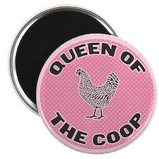 Queen Of The Coop Magnet