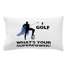 Golf Superhero Pillow Case