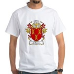 de Roever Coat of Arms White T-Shirt
