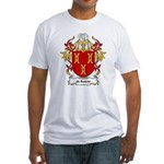 de Roever Coat of Arms Fitted T-Shirt