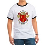 de Roever Coat of Arms Ringer T
