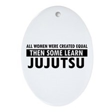 Jujutsu design Ornament (Oval)