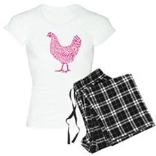 Pink Chicken Pajamas