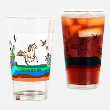 Born Free Drinking Glass