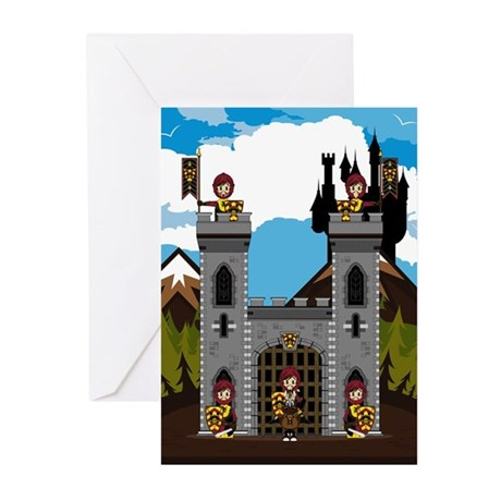 Medieval Knights and Castle Cards (Pk of 10)