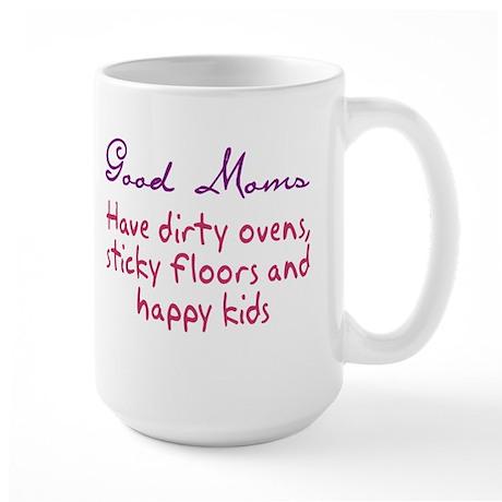 What Is A Good Mom? Large Mug