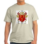 Roest Coat of Arms, Family Cr Ash Grey T-Shirt