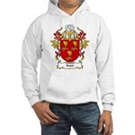 Roest Coat of Arms, Family Cr Hooded Sweatshirt