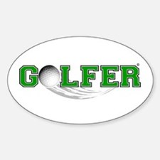 Golfer Decal