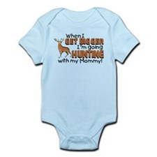 Hunting With Mommy Infant Bodysuit