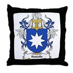 Roeloffs Coat of Arms Throw Pillow