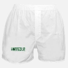 Hopped Up for Beer Boxer Shorts
