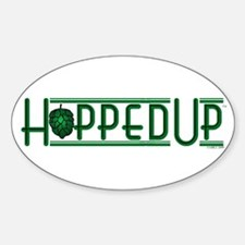 Hopped Up for Beer Decal