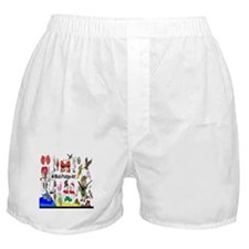 Mod Podge Art Boxer Shorts