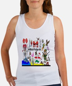 Mod Podge Art Women's Tank Top
