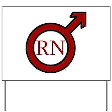RN Man Yard Sign