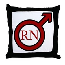 RN Man Throw Pillow