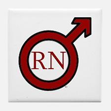 RN Man Tile Coaster