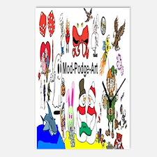 Mod Podge Art Postcards (Package of 8)