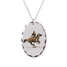 Best Seller Wild West Necklace Oval Charm