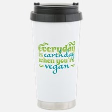 Vegan Earth Day Travel Mug