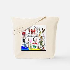 Mod Podge Art Tote Bag
