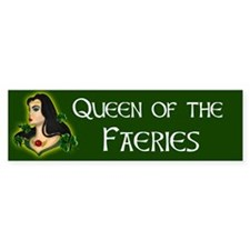 Queen of the Faeries Irish Bumper Sticker