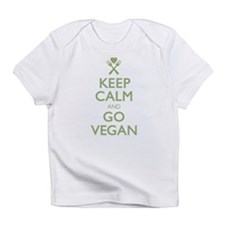 Keep Calm Go Vegan Infant T-Shirt