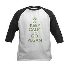 Keep Calm Go Vegan Tee