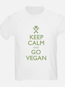 Keep Calm Go Vegan T-Shirt