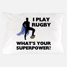 Rugby Superhero Pillow Case